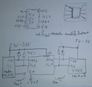 Schaltplan des PC9515A Adapters