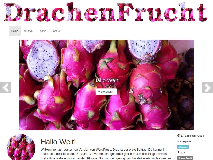 DrachenFrucht Blog