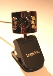 Eine ältere Logilink Webcam